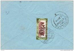 27329. Carta KABUL, Kaboul (Afganistan) 1958 A Pakistan. Carrera Caballos - Afghanistan