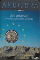 Andorra 2014 Stgl./unzirkuliert Auflage: 100.000 Stgl./unzirkuliert 2014 2 Euro Beitritt Andorras Zum Europa - Andorra