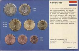 Niederlande 2013 Stgl./unzirkuliert Kursmünzensatz Stgl./unzirkuliert 2013 Euro Nachauflage - Netherlands