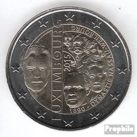 Luxemburg 2015 Stgl./unzirkuliert Auflage: 510.000 Stgl./unzirkuliert 2015 2 Euro Dynastie Nassau-Weilburg - Luxembourg