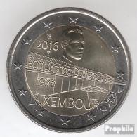 Luxemburg 2016 Stgl./unzirkuliert Auflage: 515.000 Stgl./unzirkuliert 2016 2 Euro Brücke Charlotte - Luxembourg