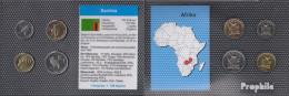 Sambia 2012 Stgl./unzirkuliert Kursmünzen Stgl./unzirkuliert 2012 5 Ngwee Bis 1 Kwacha - Sambia