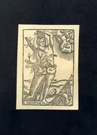 Image Pieuse: Saint Sebastien. Aprox. 1850 (5,5 X 8 Cms) (Ref. 110557) - Devotieprenten