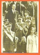 Photo De Presse AFP Intronisation Du Roi Juan Carlos 1er D'espagne 27/11/1975 - 2 Scans - Valery Giscard D'estaing - Berühmtheiten