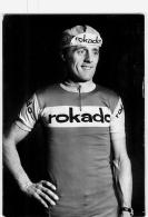 Albert VAN DAMME . Cyclisme. 2 Scans. Rokado - Ciclismo