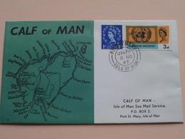 CALF Of MAN - ISLE Of MAN Local Mail ( FDC ) 1965 ( See Photo's ) ! - Man (Ile De)