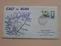 CALF Of MAN - ISLE Of MAN Local Mail ( FDC ) 1966 ( See Photo's ) ! - Man (Ile De)