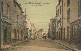 56 LA ROCHE BERNARD Rue De La Touche Carte Toile Colorise - La Roche-Bernard