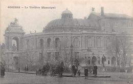 ¤¤  -  UKRAINE   -   ODESSA   -   Le Théatre Municipal     -  ¤¤ - Ukraine