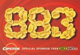 PROMOCARD N°  1547  CIPSTER OFFICIAL SPONSOR TOUR 883 - Pubblicitari