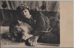 Miss Olga, Dompteuse - Löwe Lion - Lions