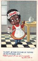 Illustration Humoristique Comic Comique - Cacao Poudre Petite Fille Small Girl Powder Cocoa - S. Gibson - Illustrators & Photographers
