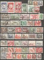 51 Timbres De 1950/52 ( Pologne ) - 1944-.... République