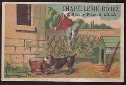 CHROMO CHAPELLERIE DOUEZ LILLE Les Frais De Justice - Trade Cards