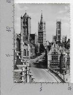 CARTOLINA VG BELGIO - GENT - Panorama - St. Niklaaskerk Belfort - 10 X 15 - ANN. 1964 - Gent