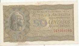 Billet De 50 Centavos Très Bon état - Argentine