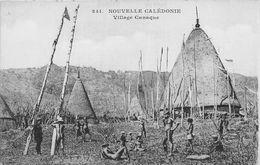 ¤¤  -  NOUVELLE CALEDONIE   -    Village Canaque   -  ¤¤ - Nouvelle Calédonie