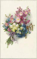 AK Blumen Frühlingsstrauß Farblitho Meissner & Buch ~1910 #20 - Unclassified