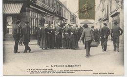 POSTEE A LA ROCHE SUR YON LA VENDEE MARAICHINE 1917 TBE - La Roche Sur Yon