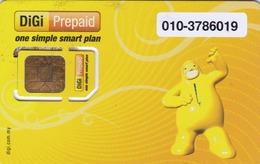 MALAYSIA - DiGi GSM Card , Used - Malaysia