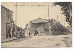 13 - Environs De Marseille - Saint - Antoine - Route De Salon - - Quartiers Nord, Le Merlan, Saint Antoine