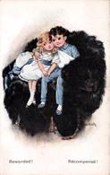Illustration - Rewarded - Récompensé - Couple Children Enfants Amour Love - Illustrator Illustrateur Nash - Autres Illustrateurs
