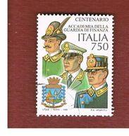 ITALIA REPUBBLICA  - UNIF. 2244  -   1996  GUARDIA DI FINANZA           -            USATO - 6. 1946-.. Repubblica