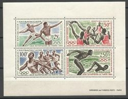 Central African Republic,LOI-Tokyo '64 1964.,block,MNH - Centrafricaine (République)