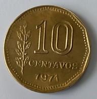 ARGENTINE - 10 Centavos 1971 - - Argentine