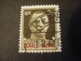 ISOLE JONIE - 1941, IMPERIALE, Sass. N. 5,  Cent. 30, Usato  TTB, OCCASIONE - Isole Jonie