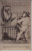 Löwe Lions Leones Lioni - Karikatur Jean Robert - Troun De Diou! - Lions
