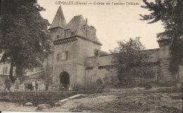 02 COYOLLES  Entrée De L'ancien Château 1931 - France