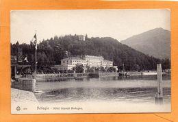 Bellagio 1905 Postcard - Como