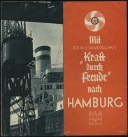 WW II Heft KdF Reiseführer : Hamburg 1935 , Bedarfserhaltung. - Allemagne