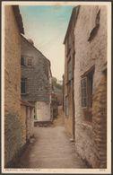 Talland Street In Polperro, Cornwall, 1938 - Photochrom Postcard - England