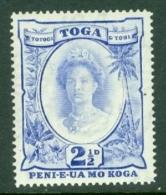 Tonga: 1942/49   Pictorial  SG77   2½d     MH - Tonga (...-1970)