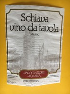 5722 - Schiava Vino Di Tavola Altesino Riva Del Garda Italie - Etiquettes