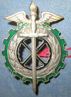 Groupe D'Instruction Technique Du Train, émail(ANC) - Armée De Terre