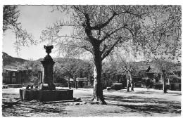 07 ARDECHE  Fontaine Et Place Du Champ De Mars De JAUJAC - France