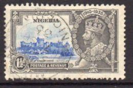 Nigeria GV 1935 Silver Jubilee 1½d Value, Used, SG 30 - Nigeria (...-1960)