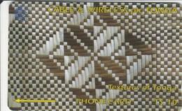 Tonga - White & Brown - 154CTGA - Tonga