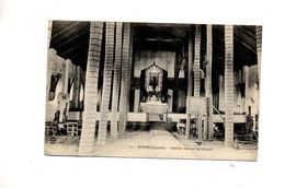 Carte Kisubi Eglise Cachet Sierentz Sur Semeuse - Uganda
