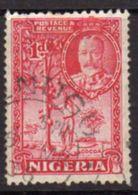 Nigeria GV 1936 1d Carmine Definitive, Used, SG 35 - Nigeria (...-1960)