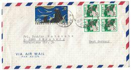 C49    Japan 1974 Airmail Cover To Germany - Brieven En Documenten