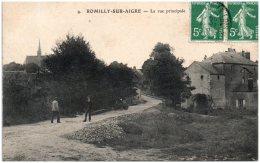 28 ROMILLY-sur-AIGRE - La Rue Principale - Autres Communes
