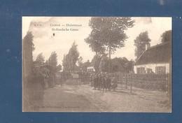 De Klinge Hulststraat - Hollandsche Grens 1914 1918 - Prikkeldraad -1916 - Landwehr Infanterie Batalion Altons (rug) - Sint-Gillis-Waas
