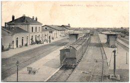 28 COURTALAIN - La Gare Vue Prise à L'Ouest - Courtalain