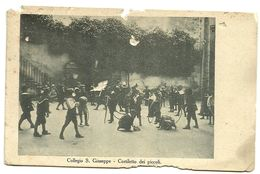 Roma - Collegio S. Giuseppe - Cortiletto Dei Piccoli - Animata - 1931 - Enseignement, Ecoles Et Universités
