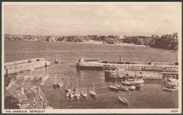 The Harbour, Newquay, Cornwall, 1954 - Salmon Postcard - Newquay