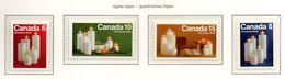 PIA - CANADA  - 1972   : Natale   -  (Yv 489-92) - 1952-.... Regno Di Elizabeth II